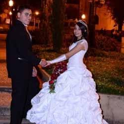 Felipe e Daiane tornam-se marido e mulher