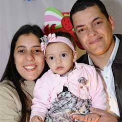 Gabriela comemora seu 1º aninho com festa!
