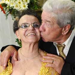 Maria Paiva e Dito celebram Bodas de Ouro