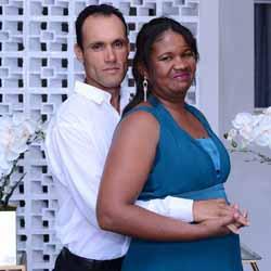 Adailton e Ivonete se casam
