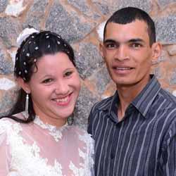 Diego e Jéssica se casam