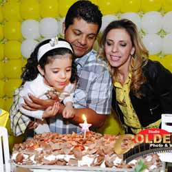 Ana Clara comemora 3 anos com linda festa