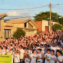 Marcha para Jesus é realizado em Maracaí