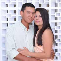 Letícia e Todashi se casam no Cartório Civil
