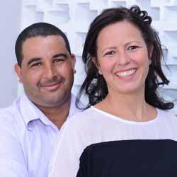 Adriano e Lúcia se tornam marido e mulher