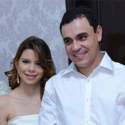 Thiago e Francieli se unem pelo matrimônio