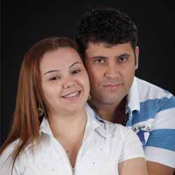 Ronaldo e Telma participam de ensaio fotográfico