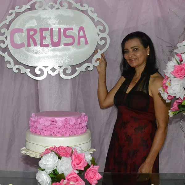 Creusa celebra os seus 50 anos