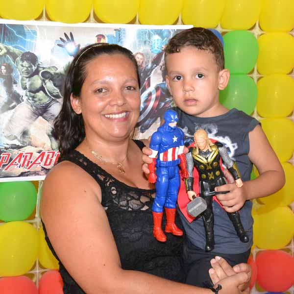 Guilherme festeja a chegada do seu 4º aninho
