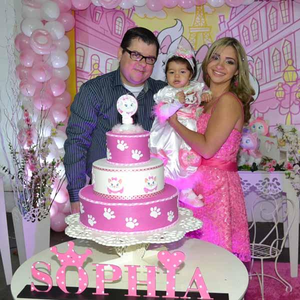 Sophia celebra 1º aninho com linda festa no Empório da Alegria