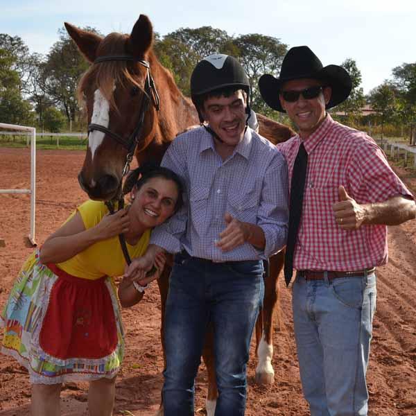III Arraiá da Hípica Equilibre é realizado em Paraguaçu