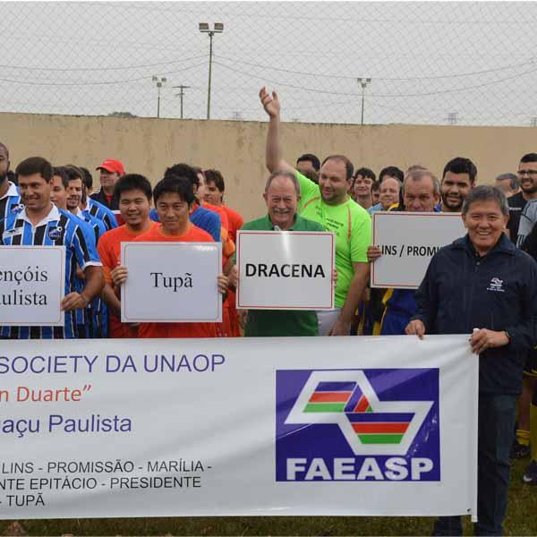 Torneio Regional de Futebol Society é realizado na Chácara do Éder