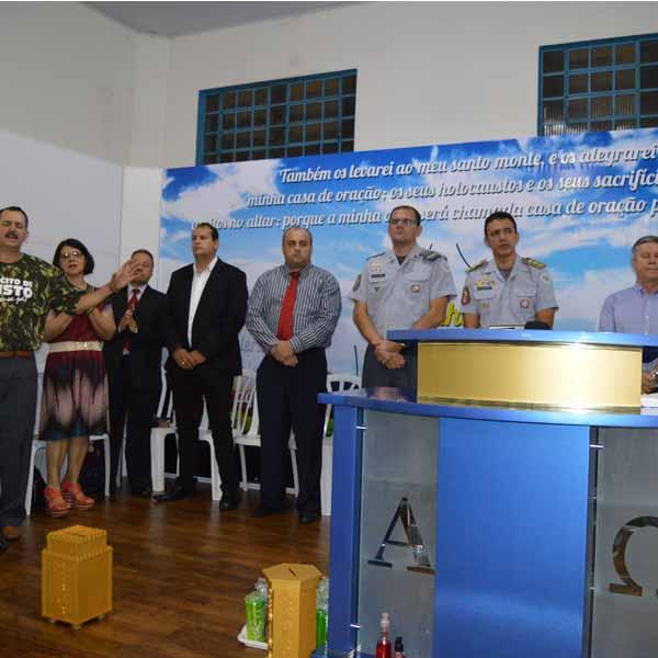 Comunidade da Família Casa de Oração celebra o Dia do Soldado com culto