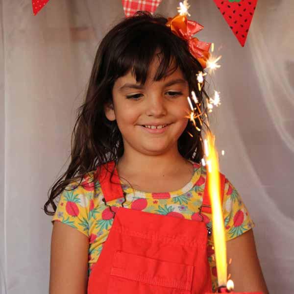 Antônia Serodio Mettifogo comemora 7 anos com festa