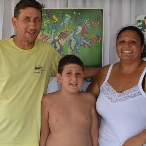 Com festa do Ben 10, João Vitor comemora os seus 9 anos