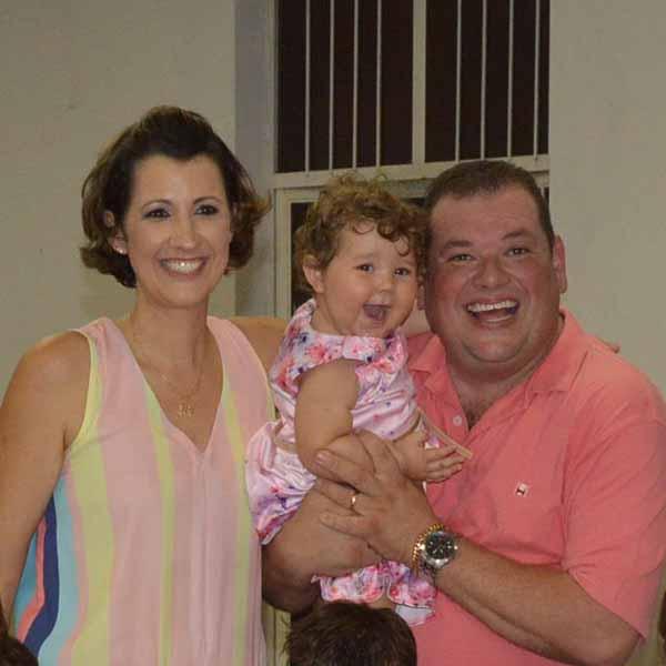 Maria Clara comemora o seu 1º aninho
