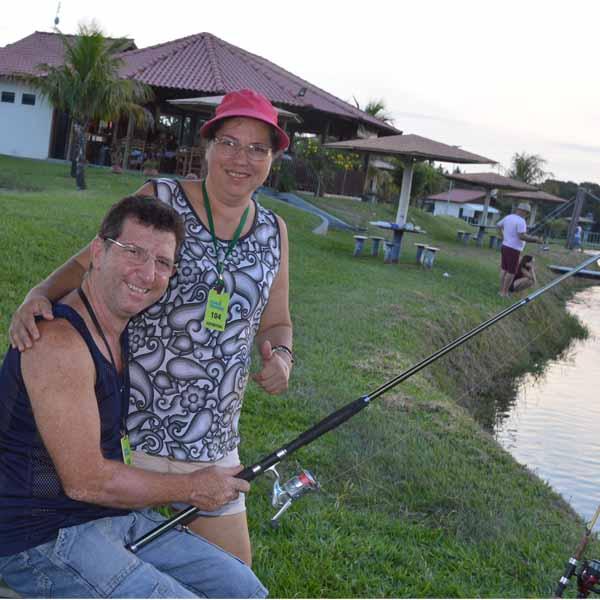 Diversão nos domingos à tarde é no Pesqueiro Dona Maria