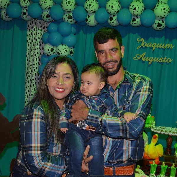 Joaquim Augusto comemora seu 1º aninho com grande festa