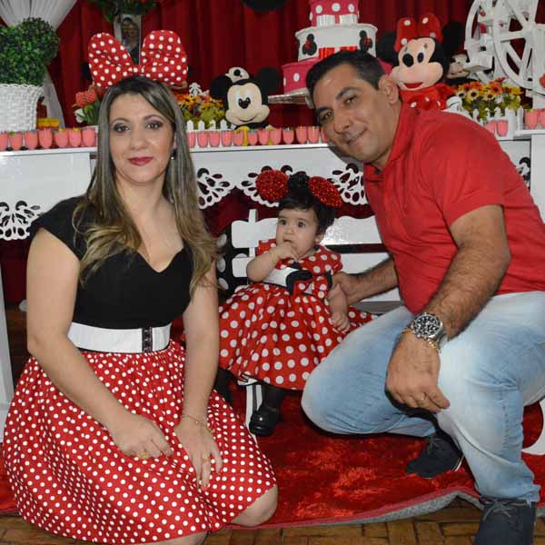 Júlia Moreira comemora 1º aninho com festa da Minnie