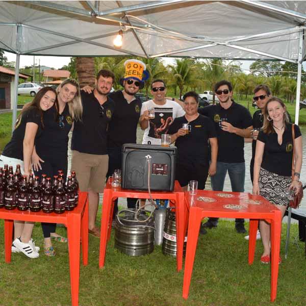 Cervejeiros artesanais da região se reúnem no Beer Day III, no Pesqueiro Dona Maria