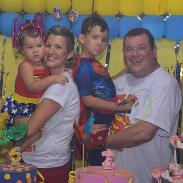 Maria Clara e Luiz Felipe comemoram mais um ano de vida