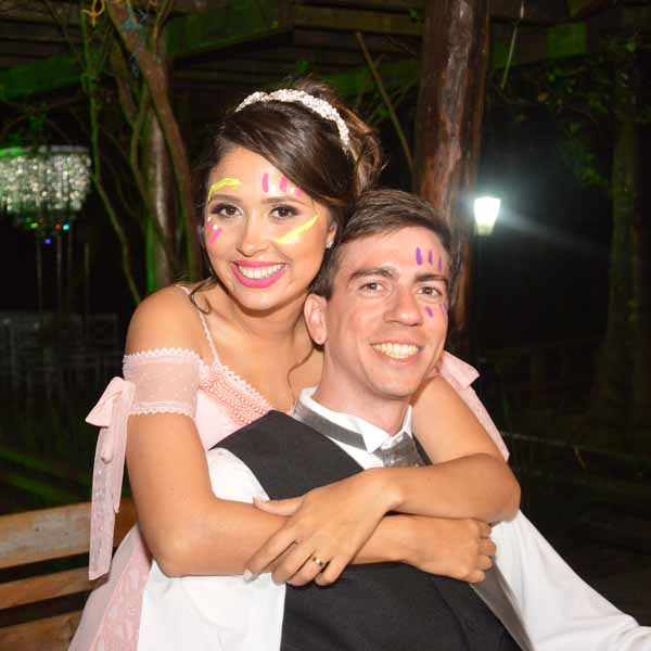 Guilherme Mendes e Ana Flávia se unem pelo matrimônio