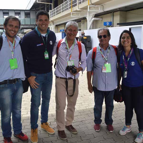 Amigos paraguaçuenses participam do GP Brasil de Fórmula 1 - Parte 1