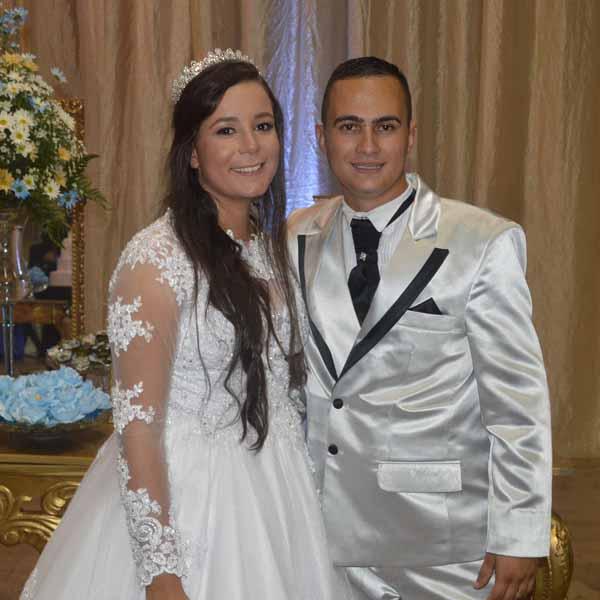 Casamento de Aline Franciele e Elivelton Brancalião