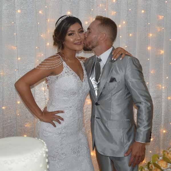 Comemoração do casamento de Fernanda e Jean Ramos