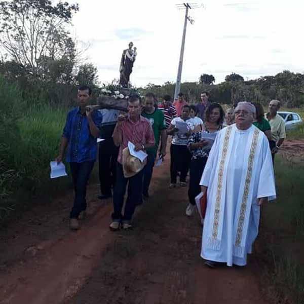 Procissão e Missa em Honra São José nesta terça feira.