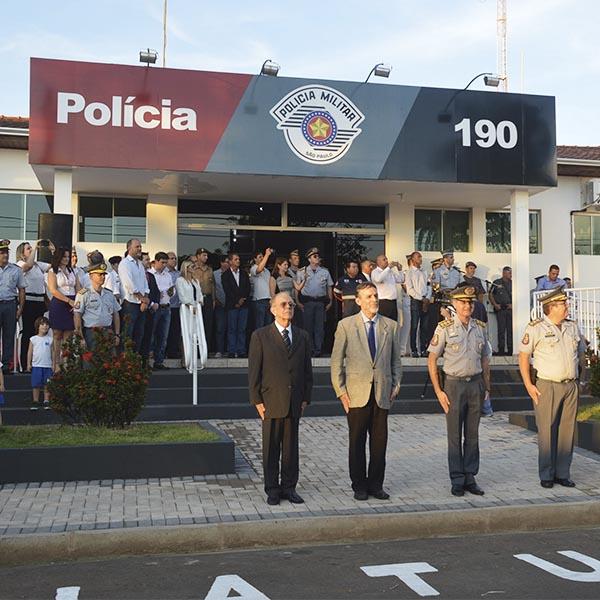 Solenidade de Valorização Policial e comemoração do aniversário do 32º BPM/I