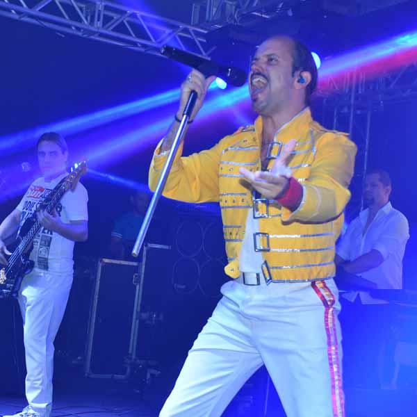 Queen Tribute Brazil lotou o Paraguaçu Tênis Clube neste sábado - P-1