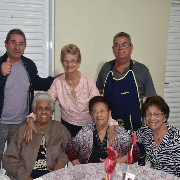 Dnª Domingas Bacca comemora 99 anos com festa