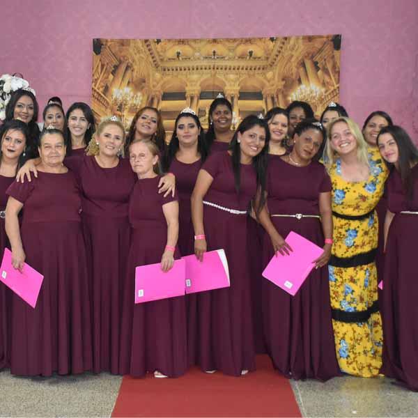 4º Chá Pérolas Preciosas reúne dezenas de mulheres
