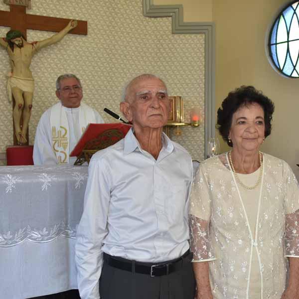 Joaquim Batista e Maria Messias completam 60 anos de casados