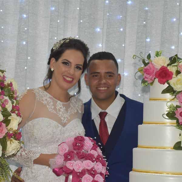 Casamento de Jenifer e Felipe no Rotary Clube