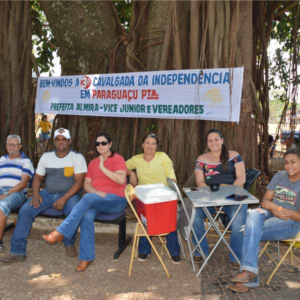 3ª Cavalgada da Independência acontece em Paraguaçu Paulista.