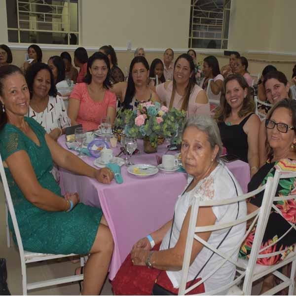 1º Chá de Mulheres na Igreja AD Brás Vila Athayde