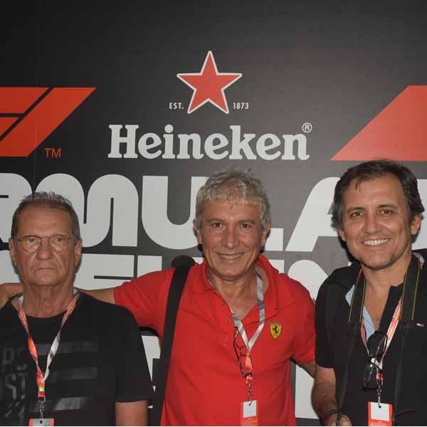 Mais um ano amigos paraguaçuenses participam do GP Brasil de Fórmula 1