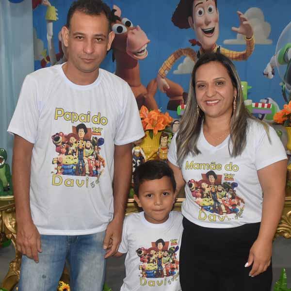 Davi Lucas comemora 5 aninho com festa do Toy Store