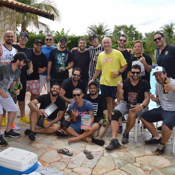 1º Encontro da turma do Bloco de Carnaval, Os Caras.