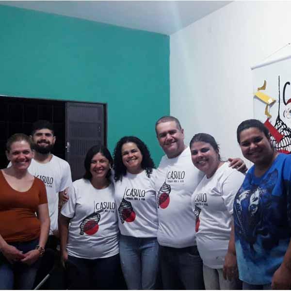 ONG Casulo realiza confraternização
