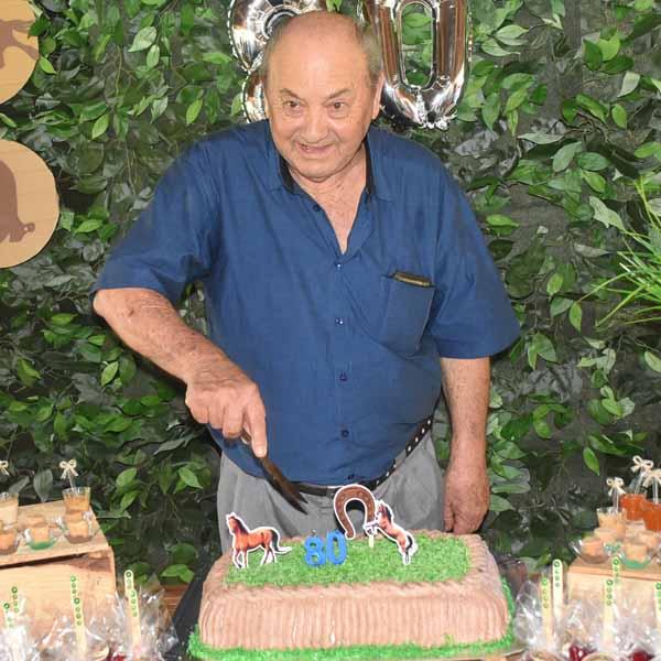 Com muita animação, José Sebastião Alves celebra os seus 80 anos