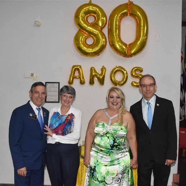 Rotary Club de Paraguaçu Paulista completa 80 anos