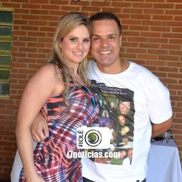 RETROSECTIVA - 25/08/2014 - George Arcênio comemora aniversário com festa