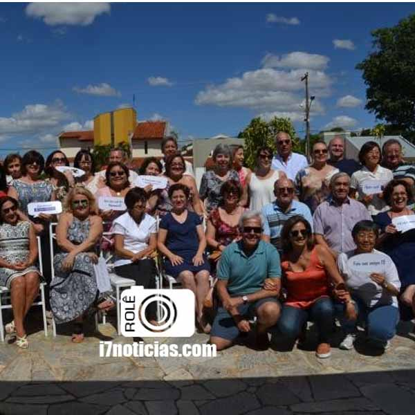 RETROSPECTIVA - 17/11/2014 - Reencontro alunos do Cene da turma de 74