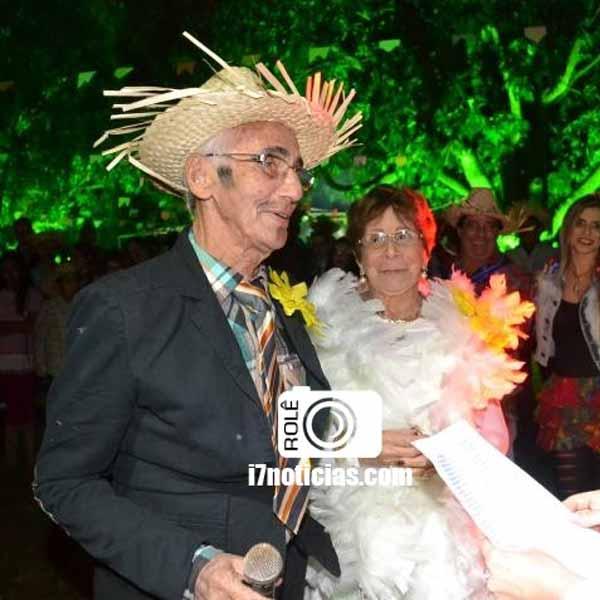 RETROSPECTIVA - 29/06/2015 - Antenor e Regina comemoram 60 anos de casamento