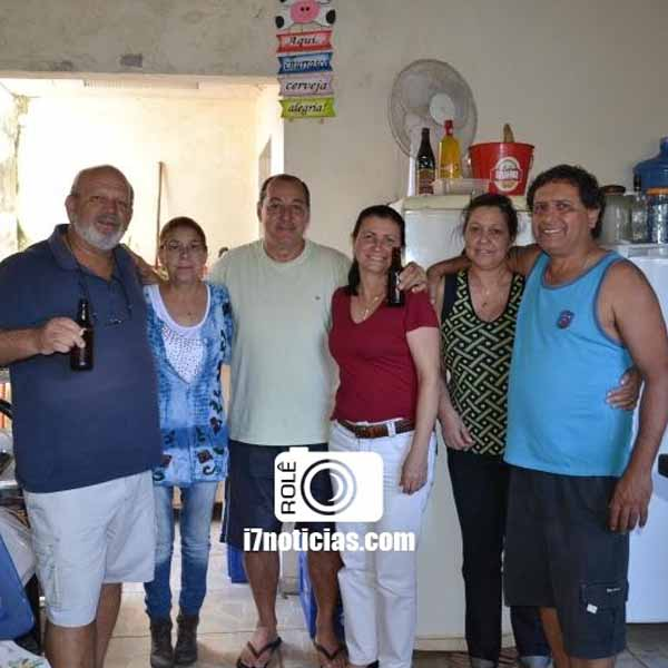 RETROSPECTIVA - 05/08/2015 - Fernando e amigos se reúnem em confraternização
