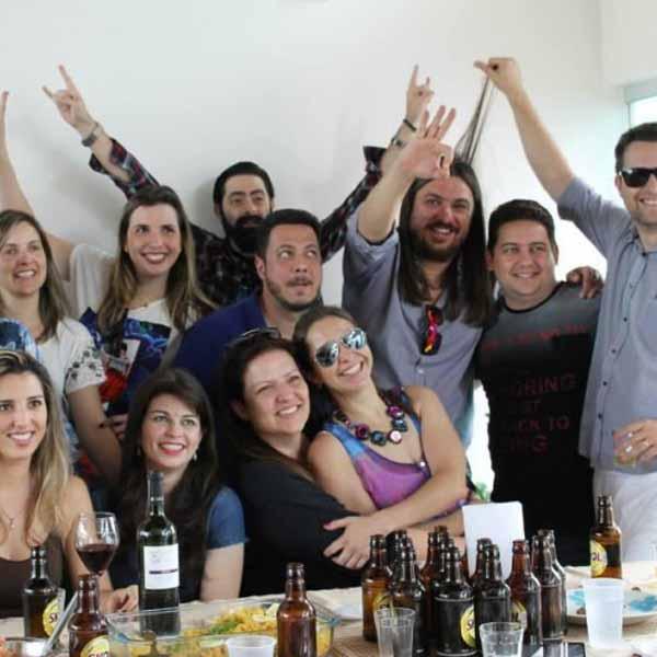 RETROSPECTIVA - 08/09/2015 - Reencontro da turma de 93 da 8ª série do Grupão