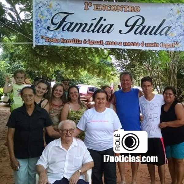 RETROSPECTIVA - 31/12/2015 - Família Paula realiza o 1º Encontro